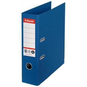 Zakladač pákový Esselte No.1 CO2 neutrálny recyklovaná lepenka 7,5cm modrý