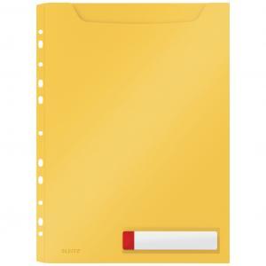 Závesný obal veľkokapacitný Leitz Cosy teplá žltá