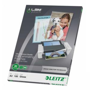 Laminovacie fólie Leitz A3  80 mic