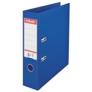 Zakladač pákový Esselte No.1 celoplastový 7,5cm modrý