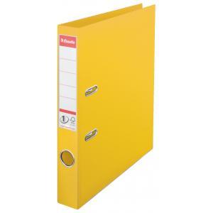 Zakladač pákový Esselte No.1 celoplastový 5cm žltý