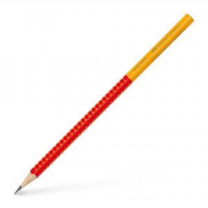 Ceruzka Faber Castell Grip 2001 B červená-oranžová 12ks