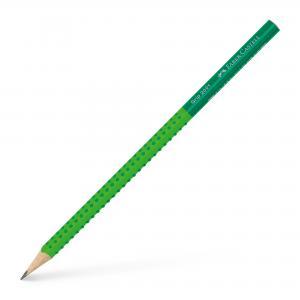 Ceruzka Faber Castell Grip 2001 B bledo zelená-zelená 12ks