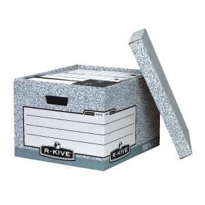 Archívna škatuľa veľká Fellowes BANKERS BOX sivá/biela