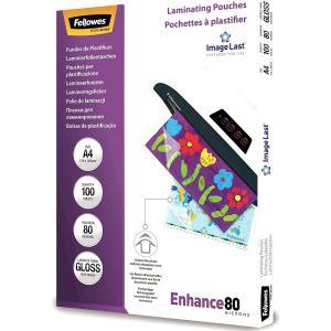 Laminovacie fólie Fellowes 216x303 A4 80mic