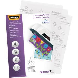 Laminovacie fólie Fellowes 303x426 /A3/ 80mic