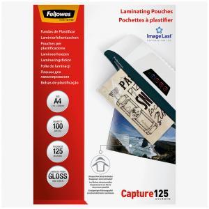 Laminovacie fólie Fellowes 216x303 A4 125mic