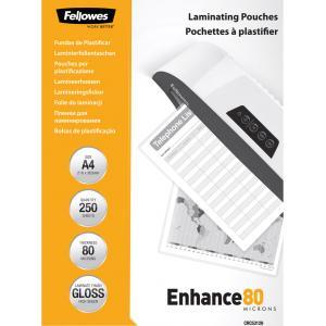 Laminovacie fólie Fellowes 216x303 80mic 250ks