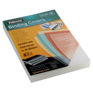 Plastové obálky na krúžkovú väzbu Futura A4 280 mic. číre
