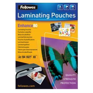 Laminovacie fólie Fellowes 303x426 A3 80mic matné