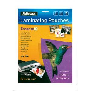 Laminovacie fólie Fellowes 216x303 A4 80mic matné