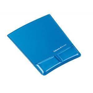 Podložka pod myš s opierkou zápästia Health-V modrá