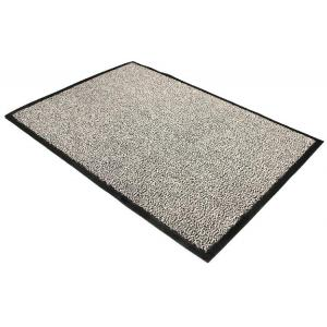 Čistiaca rohož 90x120 cm sivá