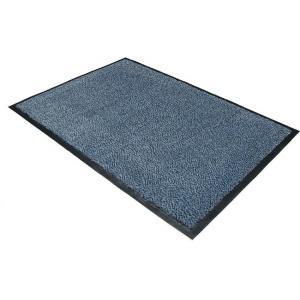 Čistiaca rohož 90x120 cm modrá