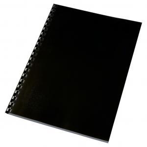Kartónové obálky na krúžkovú väzbu GBC HighGloss A4 čierne