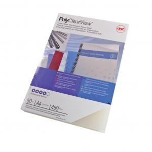 Plastové obálky GBC PolyClearView A4 450 mic číre 50 ks