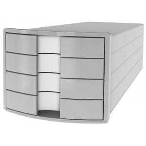 Zásuvkový box Impuls zatvorený sivá/sivá