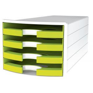 Zásuvkový box IMPULS otvorený zelený