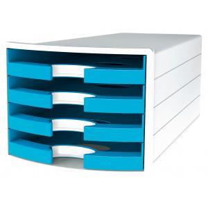 Zásuvkový box IMPULS otvorený svetlomodrý