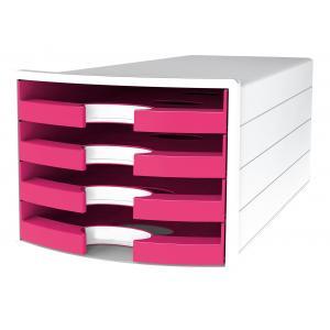 Zásuvkový box IMPULS otvorený ružový