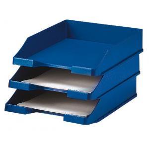Odkladač plastový modrý