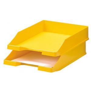 Odkladač plastový žltý
