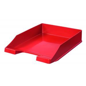 Odkladač plastový červený