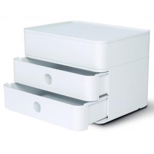 Zásuvkový box ALLISON biely