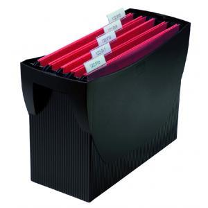 Prenosný box na závesné obaly HAN SWING bez veka čierny