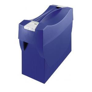 Prenosný box na závesné obaly HAN SWING s vekom modrý
