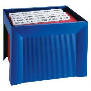 Zásobník na závesné obaly HAN KARAT modrý