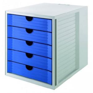 System box KARMA eko - modrá