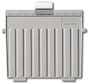 Plastové oddeľovače A4 do kartotéky HAN 9024 sivé 5ks