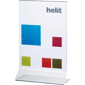 Prezentačný stojan Helit kolmý A4