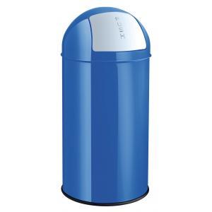Kôš Helit kovový 50 l modrý