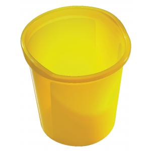 Kôš Economy 13 l priesvitný žltý