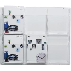Prezentačný panel so 6 odkladačmi