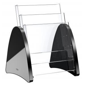 Prezentačný stojan Parabel A4 čierny