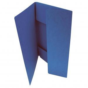 OM 253 s 3 chlopňami prešpán modrý