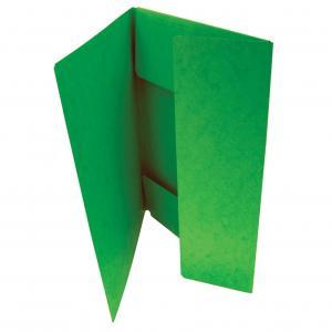 OM 253 s 3 chlopňami prešpán zelený