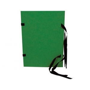 Spisové dosky A4 zelený prešpán