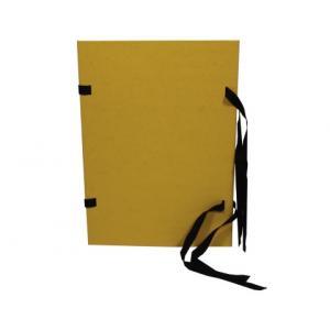 Spisové dosky A4 žltý prešpán