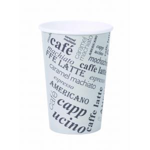 Papierový pohár 0,3l `Coffee to go` s motívom 50ks