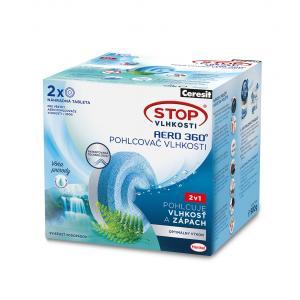Ceresit Stop vlhkosti - 2tablety AERO sviežosť vodopádov 2x450g