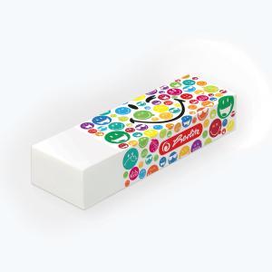 Guma na ceruzku Smiley world Rainbow v blistri