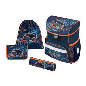 Školská taška Loop Moto Herlitz sada