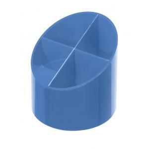 Stojan na perá Herlitz Color Blocking baltická modrá