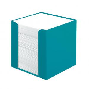 Blok kocka nelepená Herlitz Color Blocking 90x90x90mm karibská tyrkysová