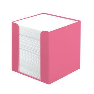 Blok kocka nelepená Herlitz Color Blocking 90x90x90mm indonézska ružová