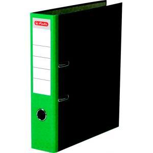 Zakladač pákový Herlitz Mramor 8cm zelený
